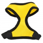 Doglemi DM40050-1 Mesh Fabric Chest / Back Belt for Pet Dog - Yellow (Size S)