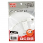 unitek Y-C446 Mini USB Male to USB Female OTG Adapter Cable for Tablet PC - White