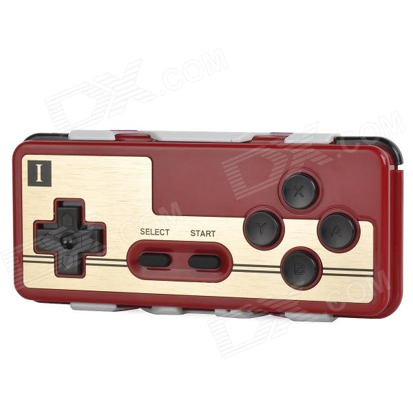 8BITDO FC 30th Anniversary Wireless Game Controller for Iphone / Ipad / HTC / Samsung + More - Red 8bitdo fc 30th anniversary wireless game controller set for ios android pc red 2 pcs