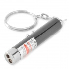 Doglemi DC1002 5mW Red Laser Point w/ 1-LED White Flashlight for Play With Cat - Black (3 x LR41)