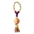 JUQI Y Type Cotton Ball Toy for Dog