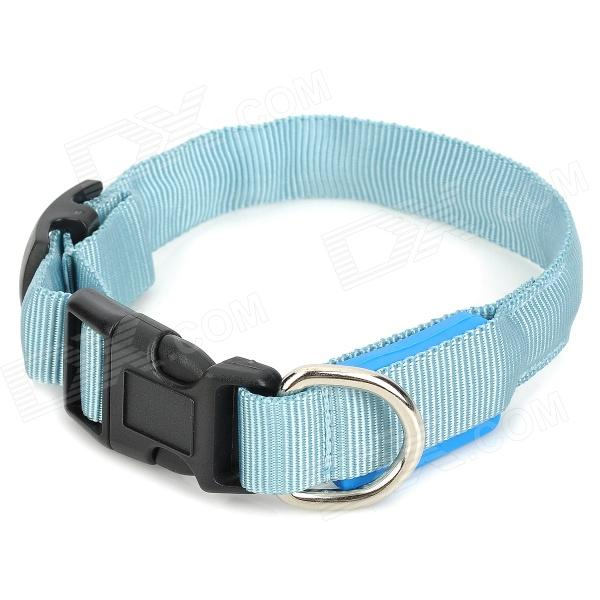 Doglemi DM40024-M LED Flash Pet Safety Collar - Blue (2 x CR2016) diamond 200 electric white curtain electric curtain projection screen hd