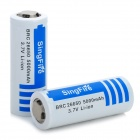 SingFire BRC 3.7V 26650 5000mAh Li-ion Protected Battery (2 PCS)