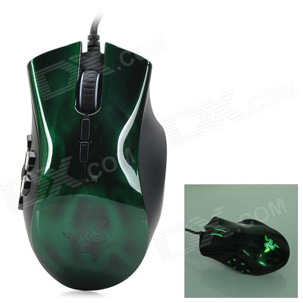 Razer Naga USB 2.0 Wired 5600dpi Optical Mouse - Green + Black чайник со свистком 2 4 л rondell premiere rds 237
