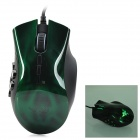 Razer Naga USB 2.0 Wired 5600dpi Optical Mouse - Green + Black