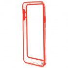 Protective Plastic Bumper Case for Samsung Galaxy Note 3 - Red + Transparent