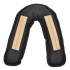 JUQI V Shape Toy for Dog / Cat - Black + Orange