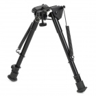 9'' Clamp-on Bipod for 20mm Rail Gun - Black
