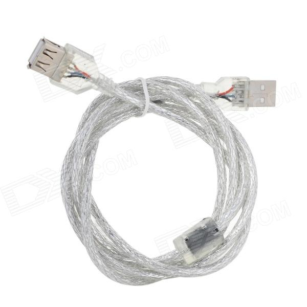 USB 2.0 Male to Femal Extension Cable - Translucent