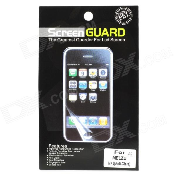 Protective PET Matte Screen Guard for Meizu MX3 - Transparent