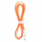 Micro USB Male to USB 2.0 Male Data Sync / Charging Cable for Samsung / HTC - Orange (120cm)