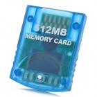 Memory Card for Wii / NGC Console - Translucent Blue (512MB)