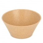 ALOCS TW-410 Outdoor Portable Picnic Wood Bamboo Bowl (500ml)