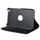 Protective 360 Degree Rotatable PU Leather Case for Samsung Galaxy Tab 3 8.0 T310 - Black