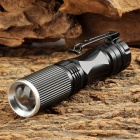 RUSTU XL-03 80lm 3-Mode White Zooming Flashlight w/ Cree XP-E Q5 - Black (1 x 14500 / AA)