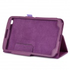 Two Section Folding Protective PU Leather Case for Samsung Galaxy Tab 3 8.0 T310 - Purple