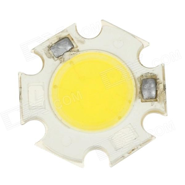 SENCART 3W 300lm 6000K Integrated COB LED White Light Emitter Board (9~11V)