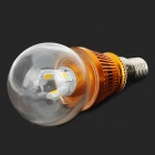 XE-L3W E14 3W 3200K 280lm 6-SMD LED Warm Light LED Bulb - Golden (85~265V)