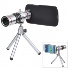 18X Aluminum Alloy Cellphone Telephoto Lens for Samsung i9300 - Silver + Black + Red