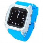 "Iradish HD-i900 GSM Watch Phone w/ 1.54"" Resistive Screen, Quad-Band, Bluetooth and FM - Blue"