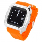 "Iradish HD-i900 GSM Watch Phone w/ 1.54"" Resistive Screen, Quad-Band, Bluetooth and FM - Orange"