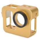Fat Cat C-C33 Multifunction Aluminum Alloy + Glass Heat-sink Case w/ UV Lens - Golden + Black