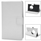 Protective PU Leather Case for Nokia Lumia 1020 - White
