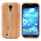 Protective Bamboo Back Case for Samsung S4 - Wood