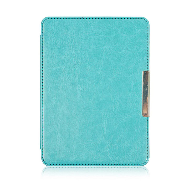 Stylish Protective PU Leather Case for KOBO GLO - Blue one piece 1x brand new high quality silicon protective skin case cover for xbox 360 remote controller blue green mix color