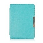 Stylish Protective PU Leather Case for KOBO GLO - Blue