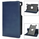Protective PU Leather Case w/ Holder for Google Nexus 7 II - Jewelry Blue