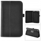 Protective PU Leather Case for Samsung Galaxy Tab 3 8.0 T310 - Black