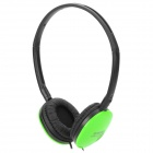 Sonun SN-160V Stylish Headphones - Green + Black (3.5mm Plug / 1.2m)