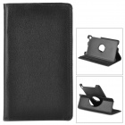 Protective 360 Degree Rotation PU Leahter Case for Google Nexus 7 II - Black