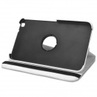 Protective PU Leather Case w/ Holder for Samsung Galaxy Tab 3 8.0 T310 - White