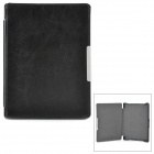 Stylish Protective PU Leather Case for KOBO AURA HD - Black