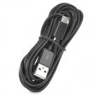 USB Male to Micro USB Male Charging Data Cable for Google Nexus 7 - Black (300 CM)