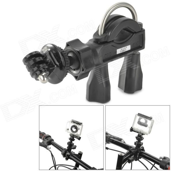 Fat Cat M-BD D-Shap Bike Handle Bar Mount for Gopro Hero 4/ 3+/3/2/1/SJ4000 - Black pannovo waterproof pu leather extra thick anti shock eva case for gopro hero 4 3 3 2 sj4000