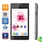 "CUBOT C11 Dual-Core Android 4.2.2 GSM Bar Phone w/ 5.0"" Screen, Wi-Fi, GPS and Quad-Band - Black"