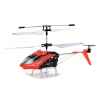 Syma S5 3-CH IR Remote R/C Helicopter w/ Gyro - Red + Black + White