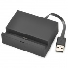 Magnetic Charging Dock Desktop Charger for Samsung Galaxy Tabl 3 10.1 - Black