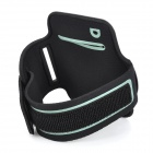 Deportes neopreno + Stretch Cotton caja del brazalete para Iphone 5C - Negro