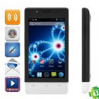"CUBOT C9+ Dual-Core Android 4.2 GSM Phone w/ 4.0"" Screen, Wi-Fi, GPS and Quad-Band - Black + White"
