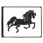 "Creative Swift Horse Pattern Sticker for Apple Macbook 11"" / 13"" / 15"" / 17"" - Black"