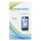 Protective PE Clear Screen Protector Film for Sony Xperia Z1 / L39h - Transparent