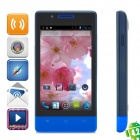 "CUBOT C9+ Dual-Core Android 4.2 GSM Phone w/ 4.0"" Screen, Wi-Fi, GPS and Quad-Band - Blue"