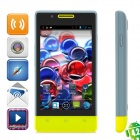 "CUBOT C9+ Dual-Core Android 4.2 GSM Phone w/ 4.0"" Screen, Wi-Fi, GPS and Quad-Band - Grey + Yellow"