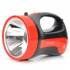 Yage yg-3545 3w led 160lm 2-mode white rechargeable handheld flashlight - black + red