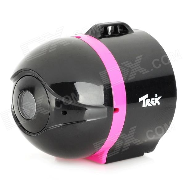 "TREK Ai-Ball Mini 1/3 ""CMOS 300KP Redes IP w / Wi-Fi para Iphone + Más - Negro + Purple"