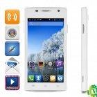 "CUBOT C10+ Dual-Core Android 4.2.2  GSM Phone w /4.5"" Screen, Wi-Fi, GPS and Quad-Band - White"